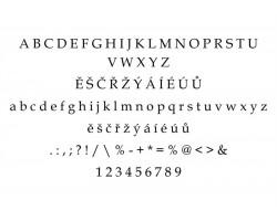 Typ písma - Book Antiqua