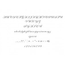 Typ písma - Edwardian Script