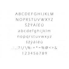 Typ písma - Eras Light