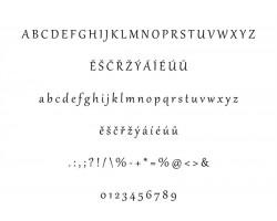 Typ písma - Gabriola