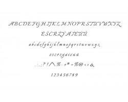 Typ písma - Italiano